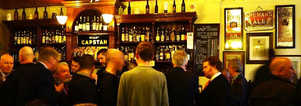 bow bar real ale house whisky grassmarket edinburgh